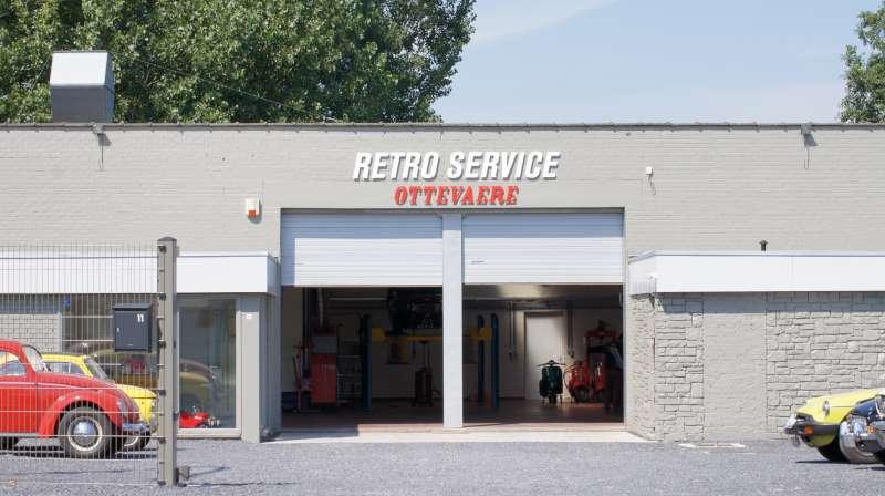Retro service ottevaere een passie voor het vak for Garage volkswagen lyon 7